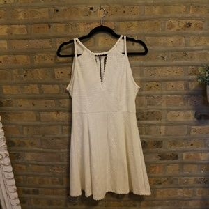 Free People Off White Dress